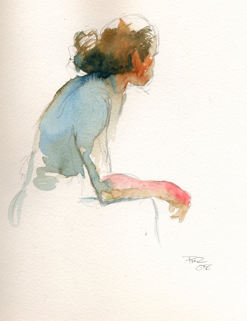 Male Model, Society of Illustrators, NYC - 2008 by Paul Zdepski