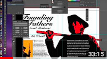 Project 3: Magazine Spread in Adobe Illustrator